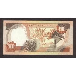 1972 - Angola P101 100 Escudos banknote