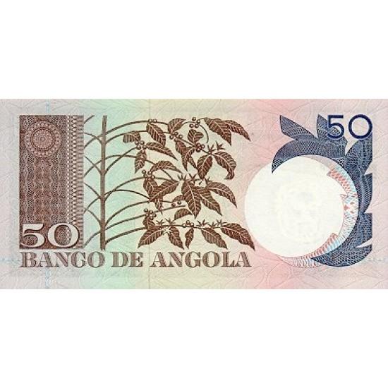 1973 - Angola P105 50 Escudos banknote