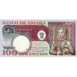 1973 - Angola P106 100 Escudos banknote