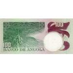1973 - Angola  P106 Billete de 100 Escudos