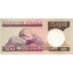 1973 - Angola P107 500 Escudos banknote