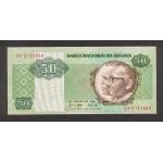 1984 - Angola P118 50 Kwanzas banknote