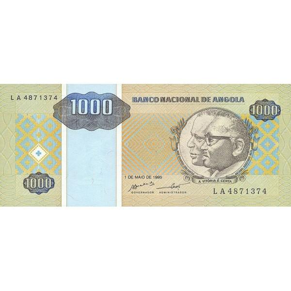 1995 - Angola  P135 Billete de 1000 Kwanzas