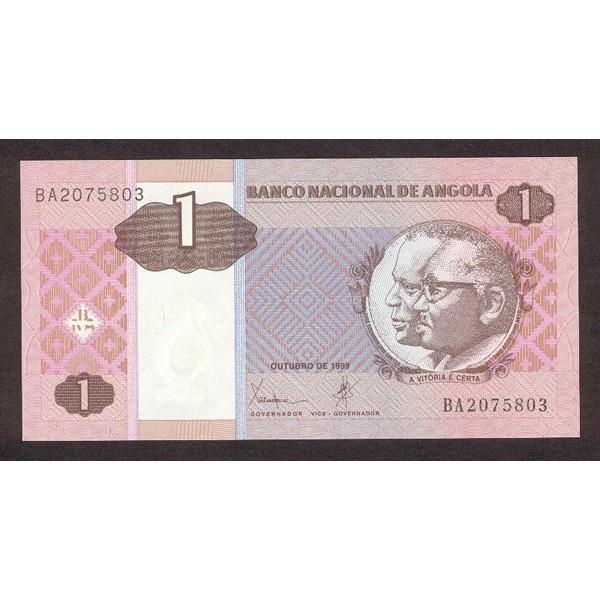 1999 - Angola  P143 Billete de 1 Kwanza