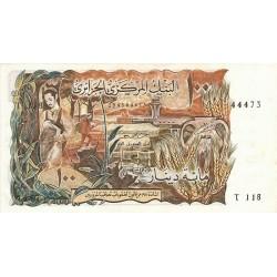 1970 -  Argelia Pic 128b   100 Dinars notebank