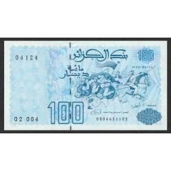 1992 -  Argelia Pic 137   100 Dinars notebank