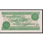 2005 -Burundi PIC 33e billete de  10 Francos