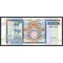 1994 - Burundi  PIC 39a   1000 Francs banknote