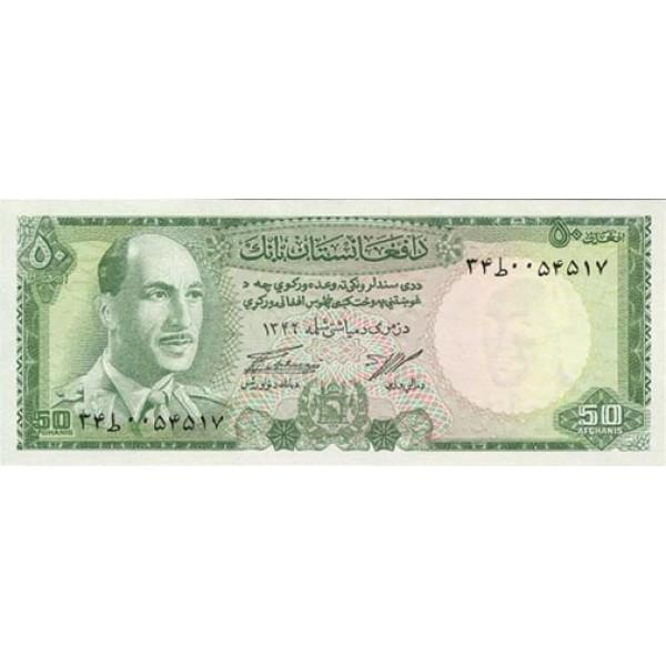 1967 - Afganistan pic 43 billete de  50 Afghanis