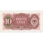 1957 - Albania P28 10 Leke notebank