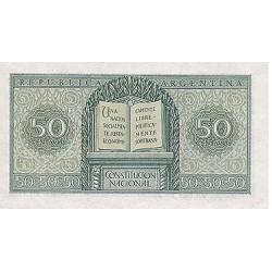 1951/56 - Argentina P261 50 centavos
