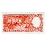 1954/63 - Argentina  P270a billete de 10 Pesos
