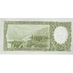 1968/69 - Argentina P276 50 Pesos banknote