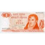 1970/73 - Argentina P287a 1 Peso banknote
