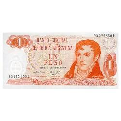 1974 - Argentina P293 1 Peso banknote