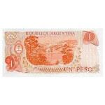 1974 - Argentina  P293 billete de 1 Peso