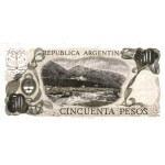 1975 - Argentina  P296 billete de 50 Pesos