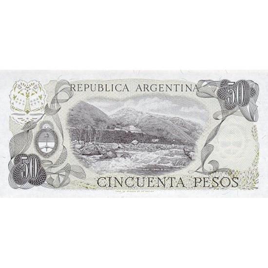 1978 - Argentina  P301b  50 Pesos  banknote