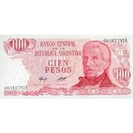 1977 - Argentina P302b 100 Pesos  banknote