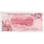 1977 - Argentina  P302a 100 Pesos  banknote