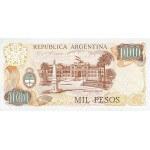 1983 - Argentina P304d billete de 1.000 Pesos