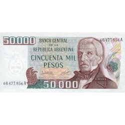 1979 - Argentina  P307 50.000 Pesos  banknote