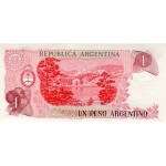 1983 - Argentina P311 1 Peso banknote. Uncirculated for sale