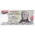 1983 - Argentina  P313  10 Pesos  banknote