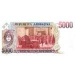 1985 - Argentina P318a billete de 5.000 Pesos