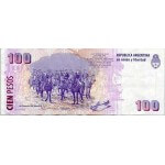 1999 - Argentina P351 billete de 100 Pesos