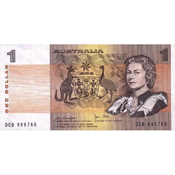 1979 - Australia P42c billete de 1 Dólar