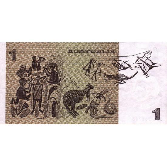 1979 - Australia P42c 1 Dollar banknote