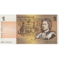 1983 - Australia P42d 1 Dollar banknote