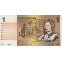 1983 - Australia P42d billete de 1 Dólar