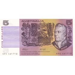 1991 - Australia P44g 5 Dollars banknote