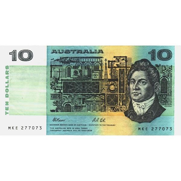 1991 - Australia P45g billete de 10 Dólares