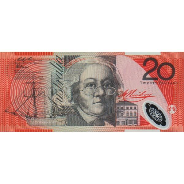 1994 - Australia P53a  billete de 20 Dólares