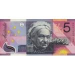 2001 - Australia P56  billete de 5 Dólares de polímero