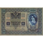 1902 - Austria P8a billete de 1.000 Kronen