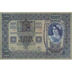 1902 - Austria P8a  1,000  Kronen  banknote