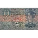 1913 - Austria PIC 14  billete de 20 kronen