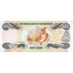 1984 - Bahamas P42 billete de 50 Centavos