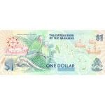 1992 - Bahamas P50 billete de 1 Dólar
