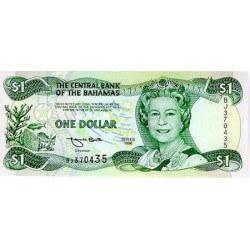 1996 - Bahamas P57 1 Dollar banknote