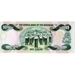 1996 - Bahamas P57 billete de 1 Dólar