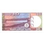1982 - Bangladesh pic 26b  billete de  10 Taka