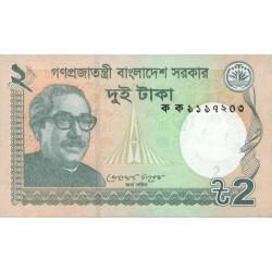 2011 -  Bangladesh PIC 52    2 Taka  banknote