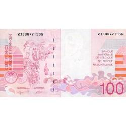 1995 - Belgium P147 100 Francs Banknote
