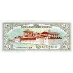 1992 - Bhutan PIC17b     50 Ngultrum  banknote