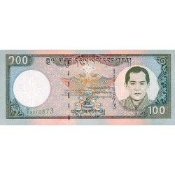 2000 - Bhutan PIC25     100 Ngultrum  banknote